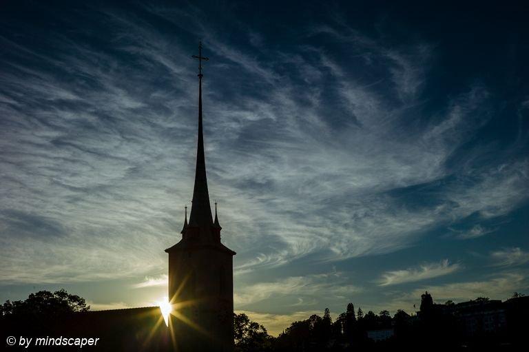 Sunset at Nydegg Church #nydegg #church #sunset #cityscape #pfingsten #pfingstwetter #Pentecost #PentecostWeather  #clouds  #berne #bern #bernpictures #bern_pictures #igersbern #_bernstagram_  #iloveswitzerland #ilovebern #leicaswitzerland #leicam #leicacamera #leicainternational