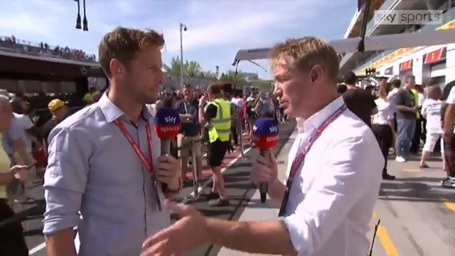 """For me, it's a racing incident. You can't just stop the car and stay off the circuit.""  @JensonButton has his say on the Sebastian Vettel penalty which denied him a #CanadianGP victory"