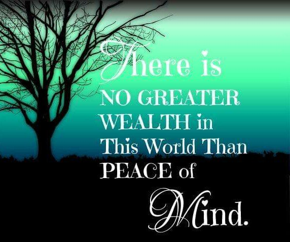 There Is NO GREATER WEALTH In This World Than #PEACEofMIND.  #quoteoftheday  #waytolive #weekendvibes  #inspiringquotes #JoyTRAIN  #ThinkBigSundayWithMarsha<br>http://pic.twitter.com/LZpJmmNv25