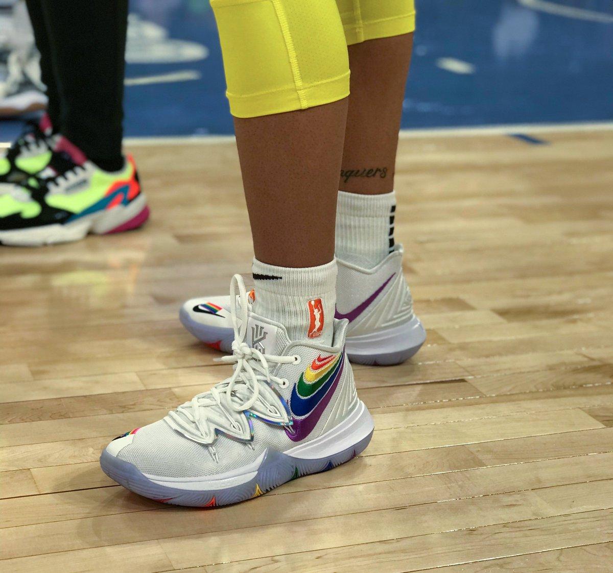BeTrue kicks! #Pride #WNBAKicks