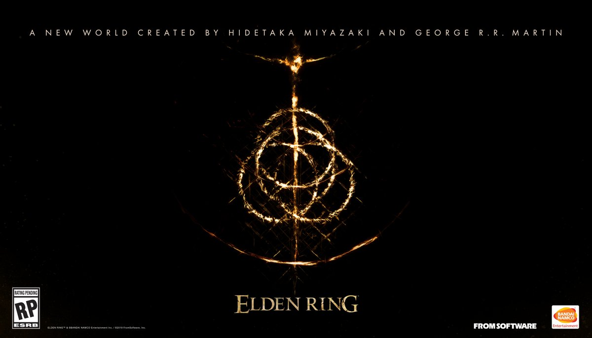 The largest FromSoftware game to-date, #ELDENRING ushers in a new world created by Hidetaka Miyazaki and George R. R. Martin! Are you ready for your next adventure? <br>http://pic.twitter.com/bwTdKEUccs
