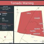 Image for the Tweet beginning: Tornado Warning including Leander TX,