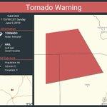 Image for the Tweet beginning: Tornado Warning including Llano County,