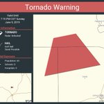Image for the Tweet beginning: Tornado Warning continues for Blanco