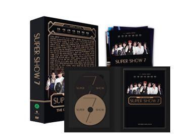 T SUPER JUNIOR SUPER SHOW 7 DVD RM170 inc postage + rm5 for SS