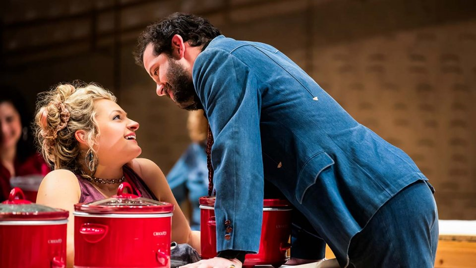 The Tony for best featured actress in a musical goes to Ali Stroker for 'Oklahoma!' https://t.co/hVGzWZFqWE #TonyAwards https://t.co/tlXf9sCSes