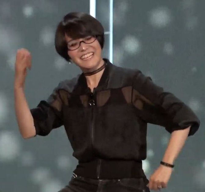 The internet is ready to die for Ikumi Nakamura, the most genuine person at E3
