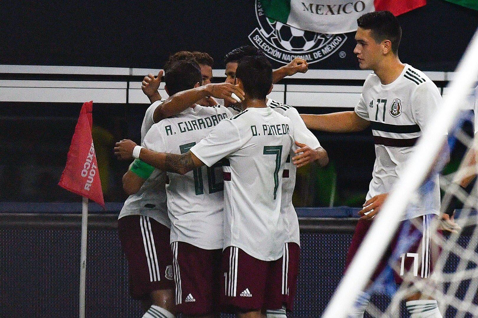 Partidos de México en la Copa Oro 2019