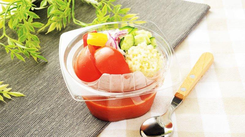 製 トマト 冷 スープ