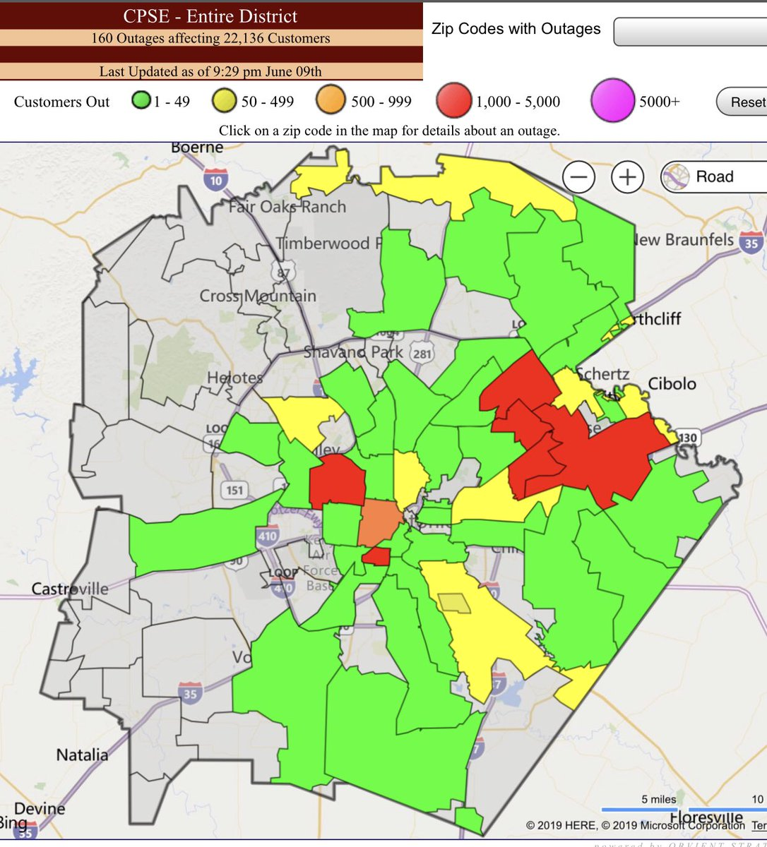 Zip Code Map San Antonio Tx on