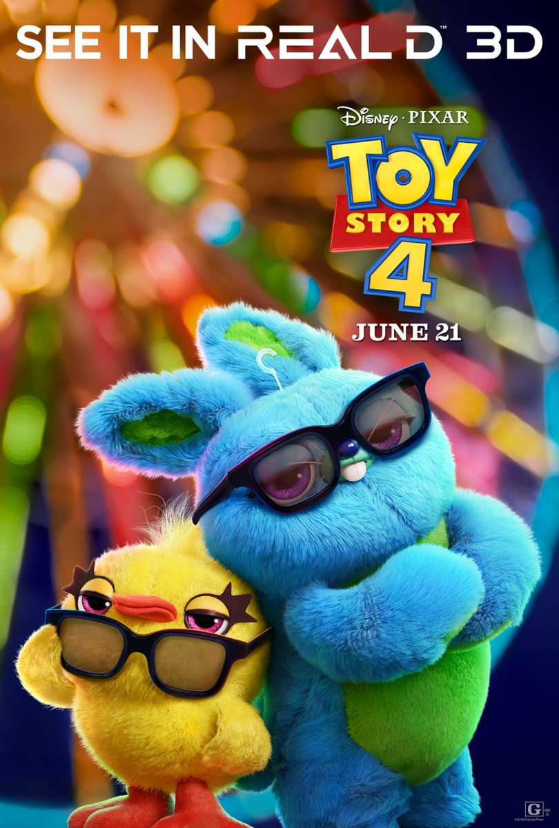 You've got a friend in me. See our exclusive art for #ToyStory4 & reserve your #3D tickets for June 21 #inRealD3D theaters today: http://bit.ly/ToyStory4in3D