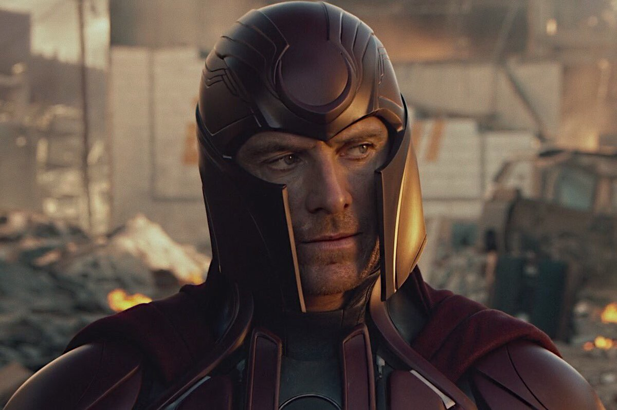 "michael fassbender on Twitter: ""the evolution of michael fassbender's  magneto… """