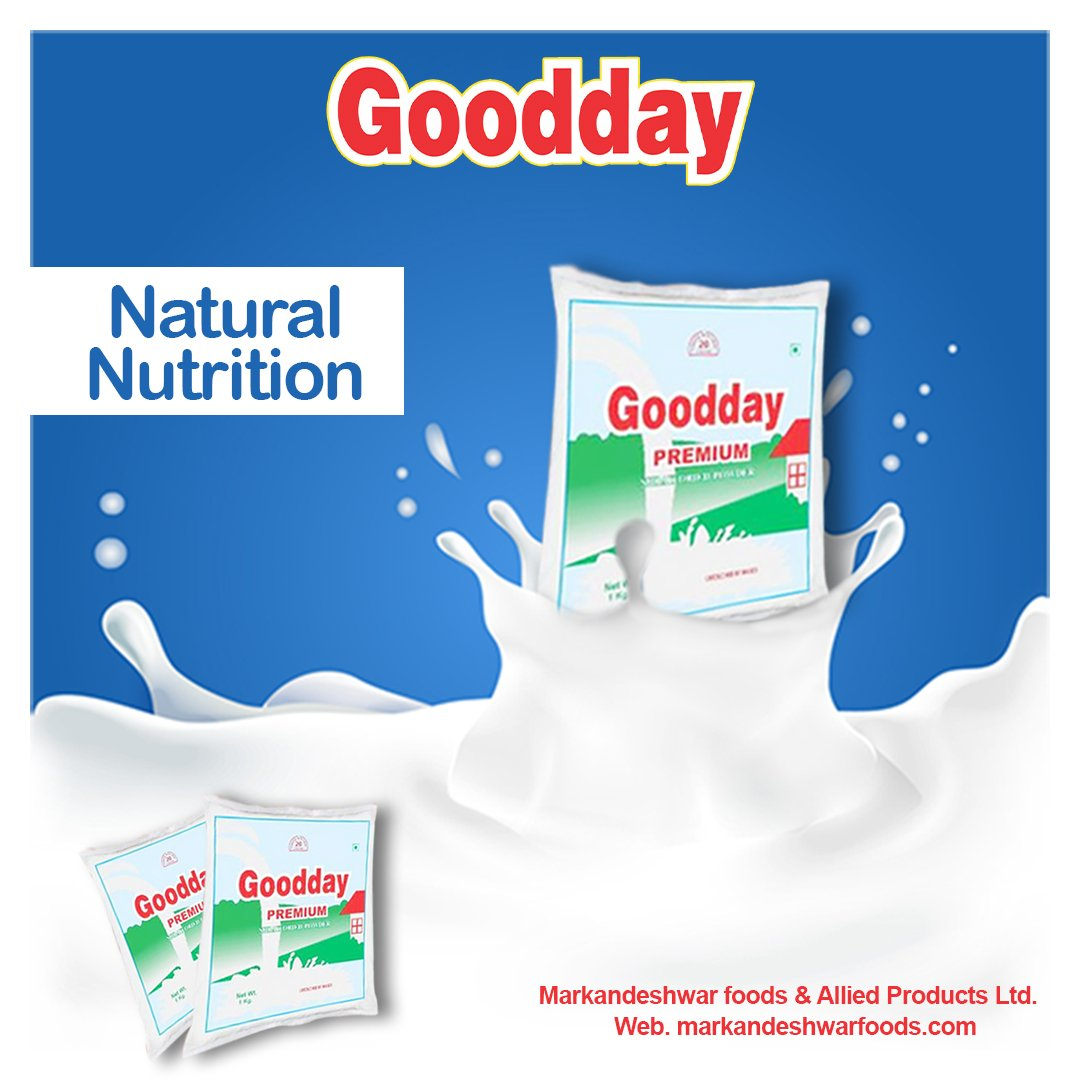 Get Natural Nutrition ✅100% Secure for Your Baby and for all other family members Get Your Pack Now of #Good_Milk_Powder @MarkandeshwarF  For trade enquiry: 9896370720, 97293 44011 #markandeshwarfood #nutritious #nutrition #gooday #puremilkpowder #plantbased #goodhealth #natural