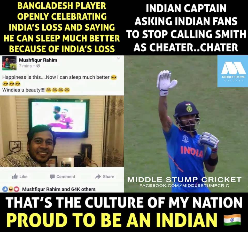 that's why he is biggest inspiration for this genration not only for india's but also for whole world he is GEM nd pure true #humanbieng of this genration nd i'm  so proud of you virat we got a inspiration like u thankyou so much to represent india #Jaihind 🇮🇳#SpiritOfCricket