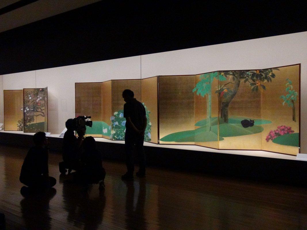 6/8に#山種美術館 で収録が行われた、テレビ東京 #新美の巨人たち (Art Traveler: #田中麗奈 さん)。生誕125年記念 速水御舟展が紹介される予定です。お楽しみに!(山崎) 7/13(土)午後10時00分~10時30分、BSテレ東 午後6時00分~6時30分 放送予定
