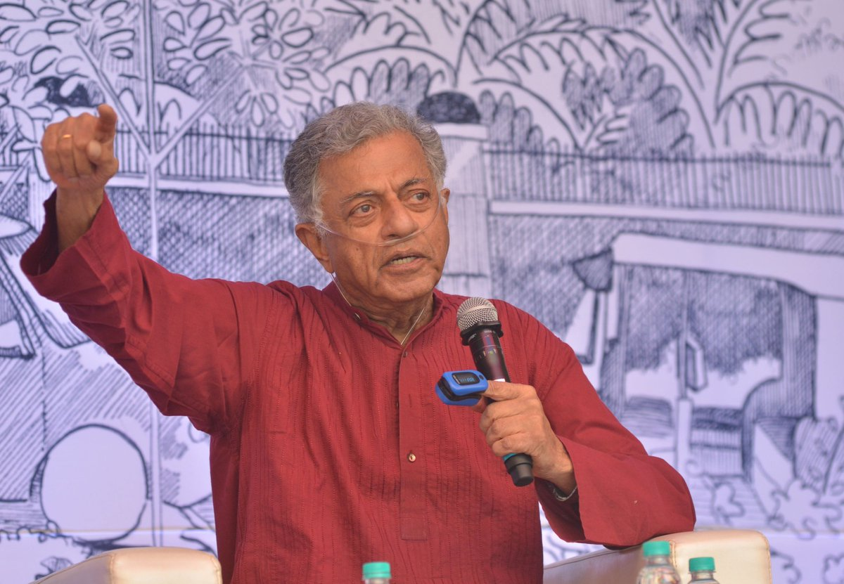 Sad to hear of the passing of Indian actor and writer #GirishKarnad. He was a critic of religious fundamentalism. He had publicly condemned the demolition of Babri Masjid in 1992.