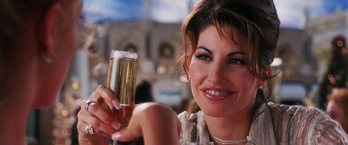 Happy birthday gina gershon the most important gemini in my life