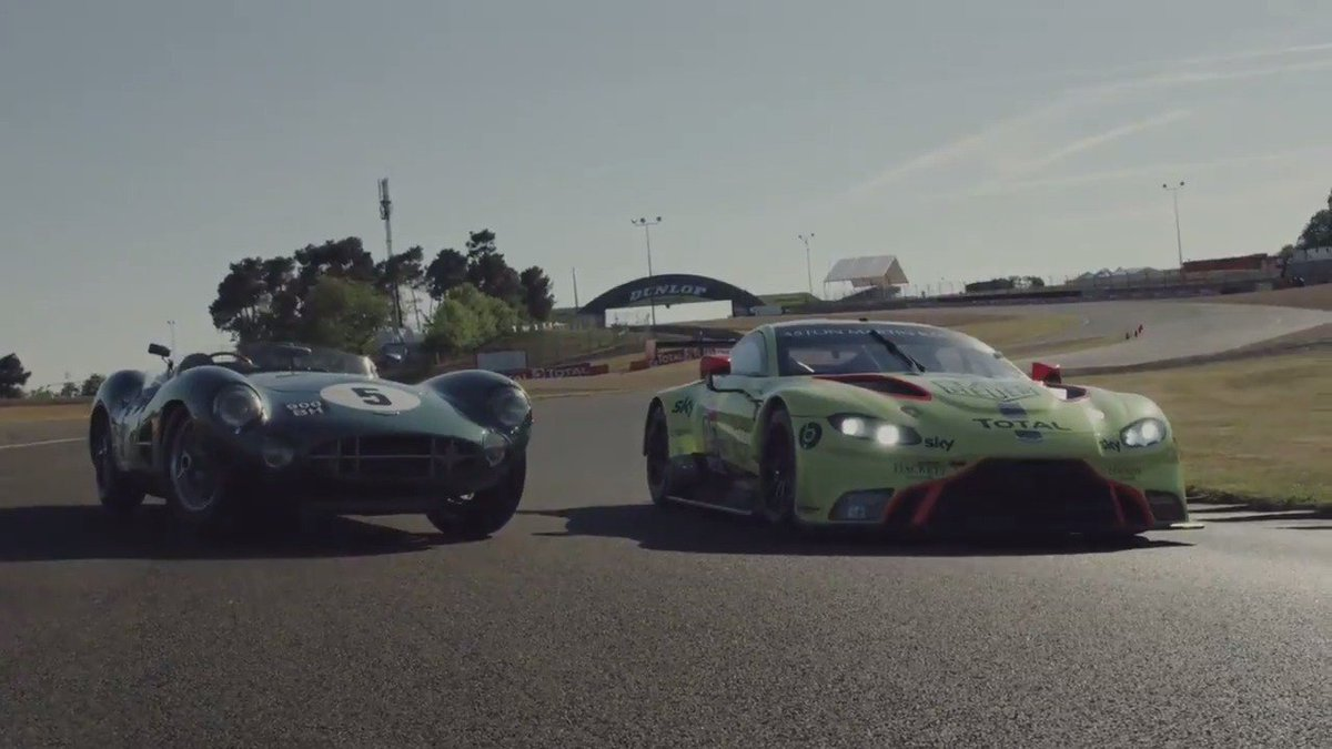 Just as in 1959, when @astonmartin took a famous victory in the @24hoursoflemans with the legendary DBR1, we're ready to fight among the greatest sportscar manufacturers in the world for @FIAWEC GTE Pro and Am glory.  http://www2.astonmartin.com/en/racing/news/2019/06/10/aston-martin-ready-to-race-in-the-spirit-of-59-as-it-honours-60th-anniversary-le-mans-victory…  #AstonMartin #VantageGTE #LeMans24