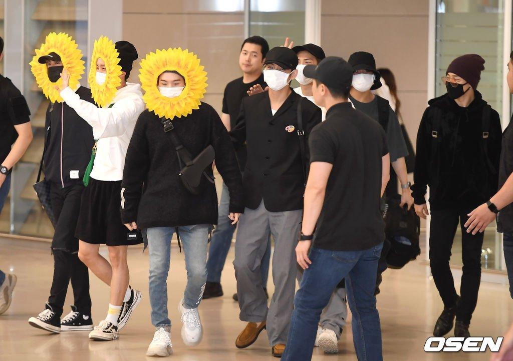 "Resultado de imagen para bts airport flower"""