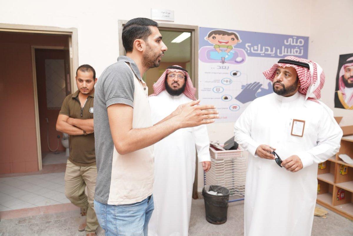 مدير عام التعليم الدكتور ناصر الشلعان يتفقد سير العمل بالمدارس المستهدفة بتطبيق مشروع الطفولة المبكرة بتعليم المنطقة الشرقية.
