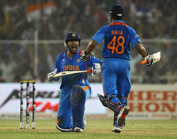 End of an era! Yuvi pa, ur ability with the bat, the glorious 6s, the impeccable catches & the good times we've had, will be missed beyond years. The class & grit u brought to the field will be an inspiration forever. Thank u, @YUVSTRONG12 Have an equally remarkable 2nd innings! https://t.co/ZWNeC9WkZL