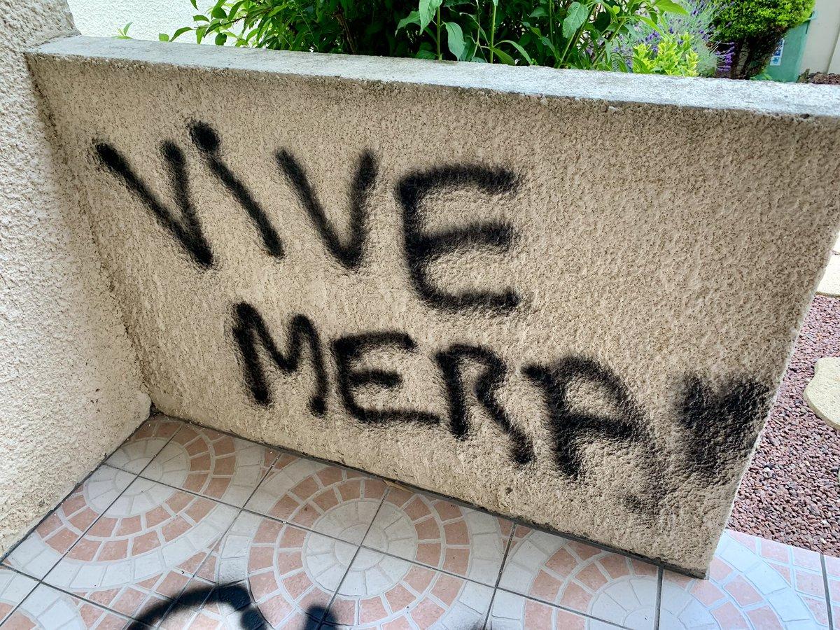 Des tags pro-Merah découverts sur la maison de Latifa Ibn Ziaten