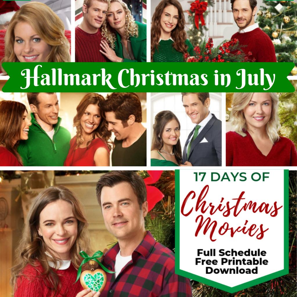 ITS HERE! The Full Easy-to-Read FREE Printable for #Hallmark Keepsake's Christmas in July Movie Marathon!   Get your FREE DOWNLOAD: http://www.allthingschristmas.com/tag/hallmark   #hallmark #hallmarkchristmas #countdowntochristmas #Hallmarkmovies  #hallmarkchristmasinjuly