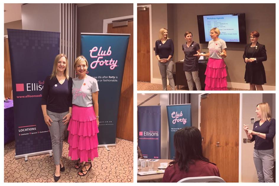 b73a96231bf1 Ellisons were delighted to sponsor the #ClubForty workshop on Saturday, a  fun and informative event with a brilliant panel of experts sharing their  ...