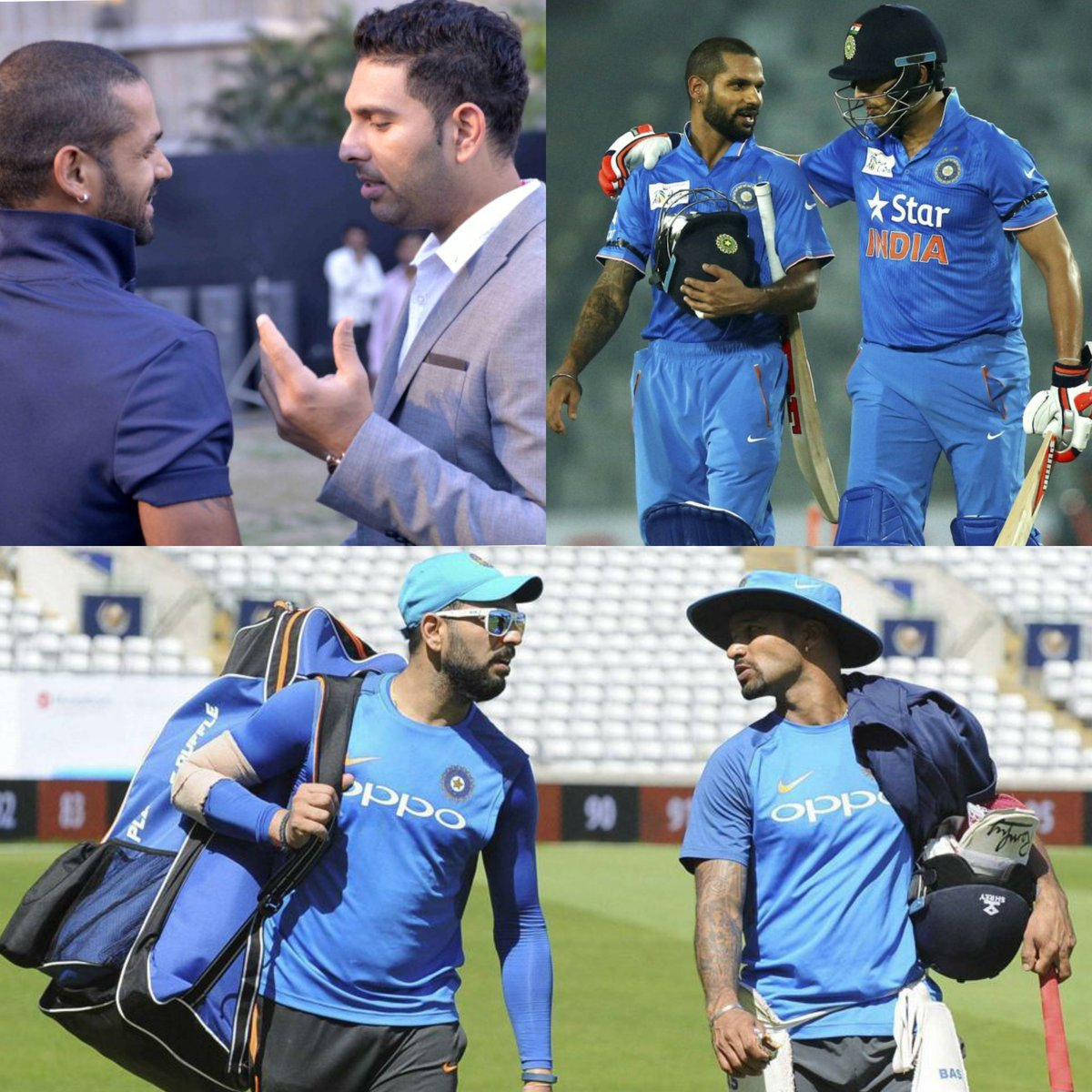 Thank you, Yuvi paaji for all the guidance, support & love. ♥ You are one of the best left-handed batsmen I have come across. I always looked up to your style & batting technique, have learnt so much from you! Wish you prosperity & success in your new journey. Rab rakha 💪🏻