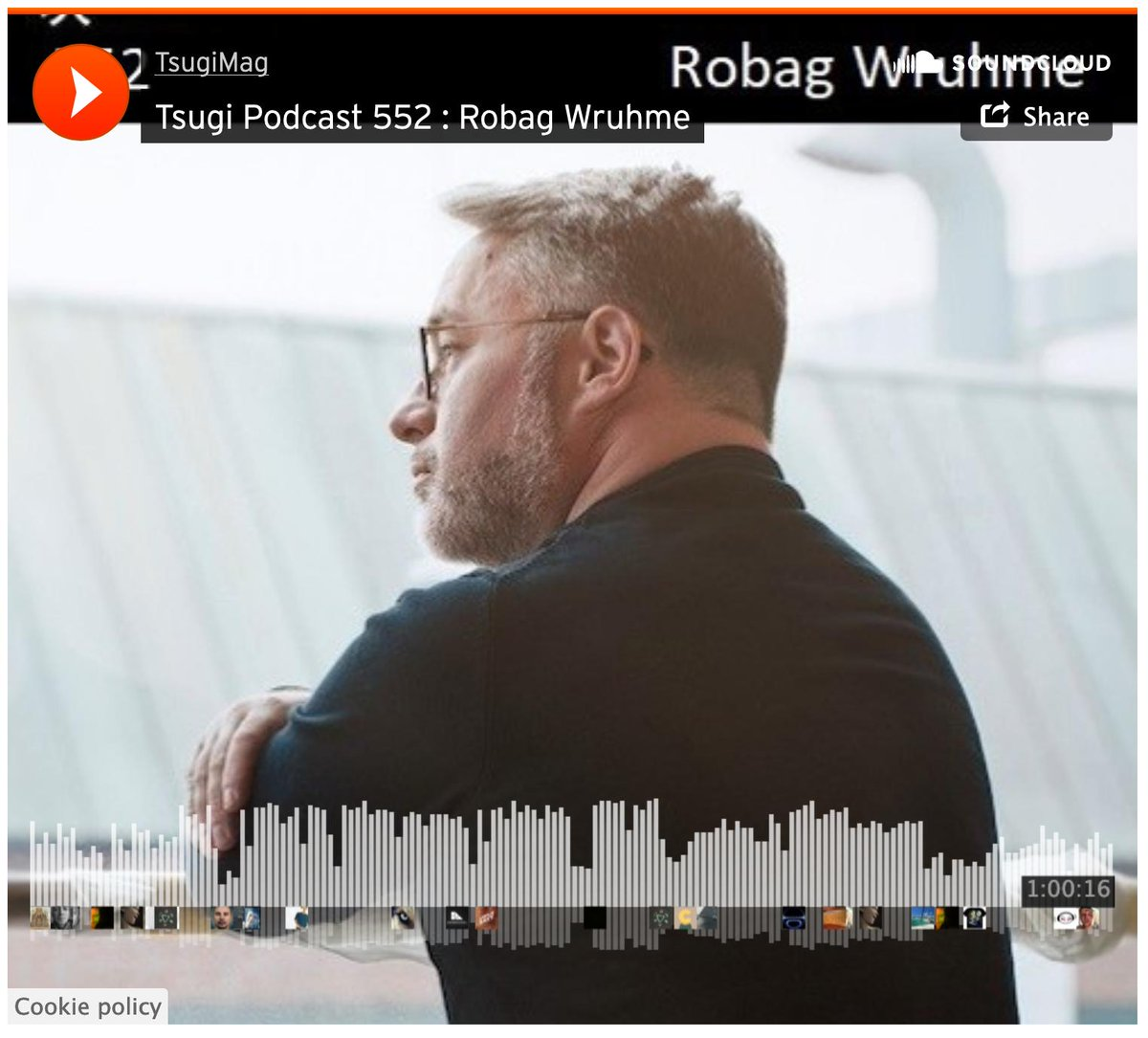 Hello, here is Robag Wruhme, this room is fucking big. Today I made a really nice mix for you. Enjoy this journey through my little history of music.- listen to the latest podcast of @robagwruhme for @tsugimag! Album available here: pampa-records.lnk.to/RobagWruhme_Ve…