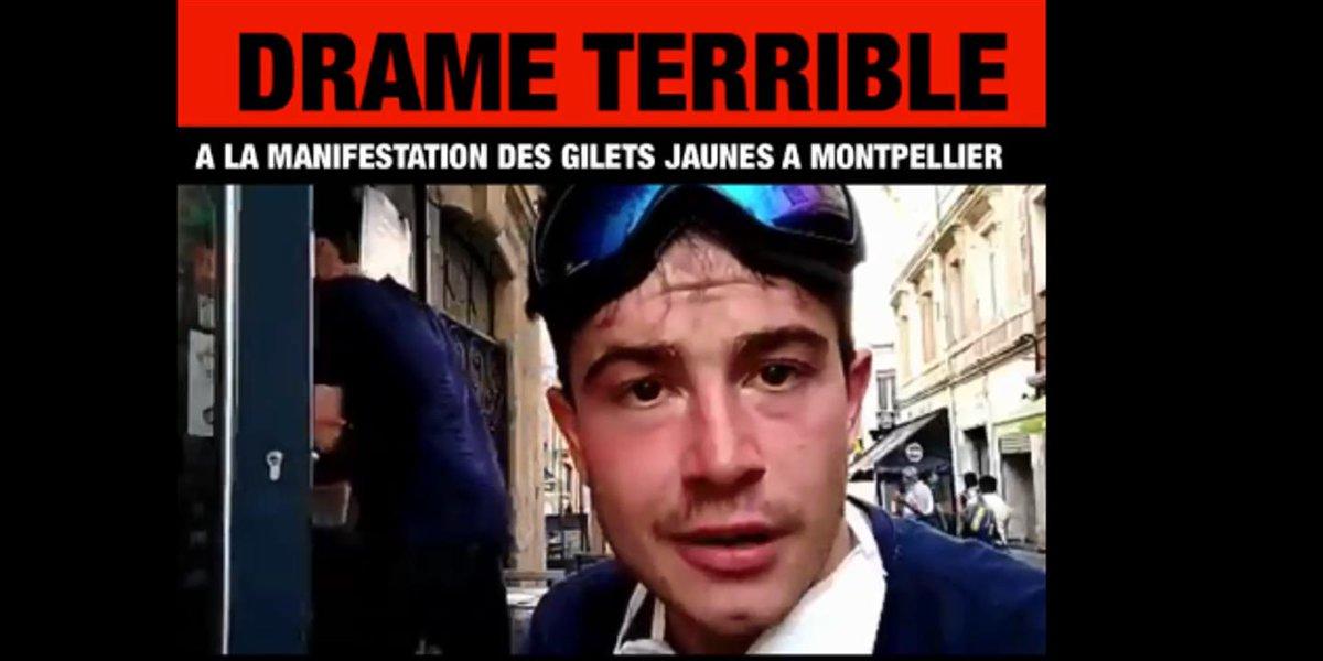 Comment la rumeur sur la mort supposée de deux « gilets jaunes » à Montpellier s'est dégonflée http://bit.ly/2wOjmig