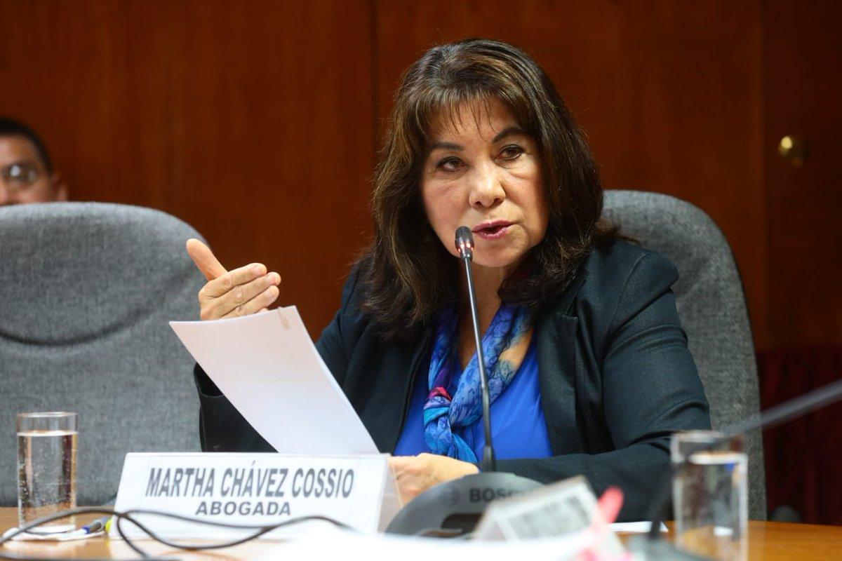 Resultado de imagen para Martha Chávez Cossío andina