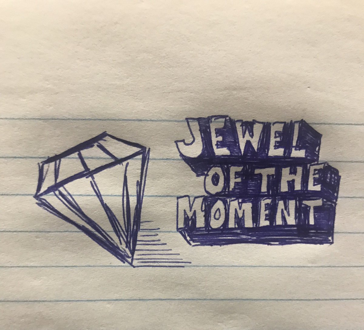 Jewel of the moment  #jewelofthemoment #randomthoughts #aimlow #avoiddisappointment #compositionbookchronicles #conquesopublishing #cqcomics #comics #webcomic #comix #sketch #sketchbook