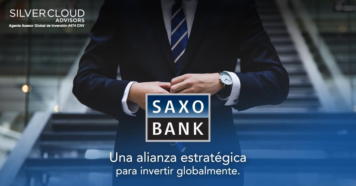 Celebramos nuestra alianza con @SaxoBank. Desde su cuenta en Dinamarca, nuestros clientes pueden acceder a todos los mercados financieros del mundo.   Conocé todas las oportunidades de inversión con nosotros. #SilverCloudAdvisors #SaxoBank