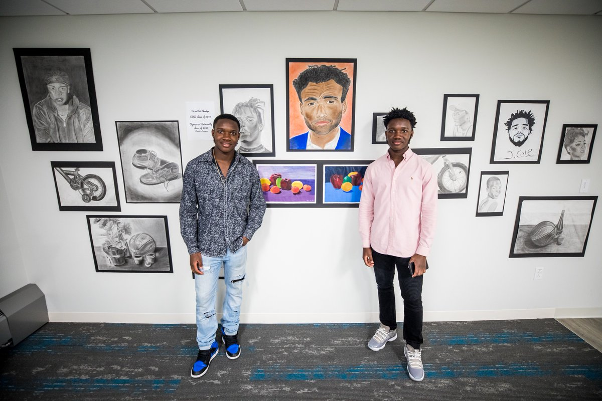 test Twitter Media - Cathedral High School student-artists exhibited their artwork in a variety of media during a two-day art show—including during @SoWa_Boston #FirstFridays—hosted at our new Applied Learning Center.   #FullSTEAMAhead | #BostonCreates | #SoWaBoston https://t.co/D5V6lZ9XTM