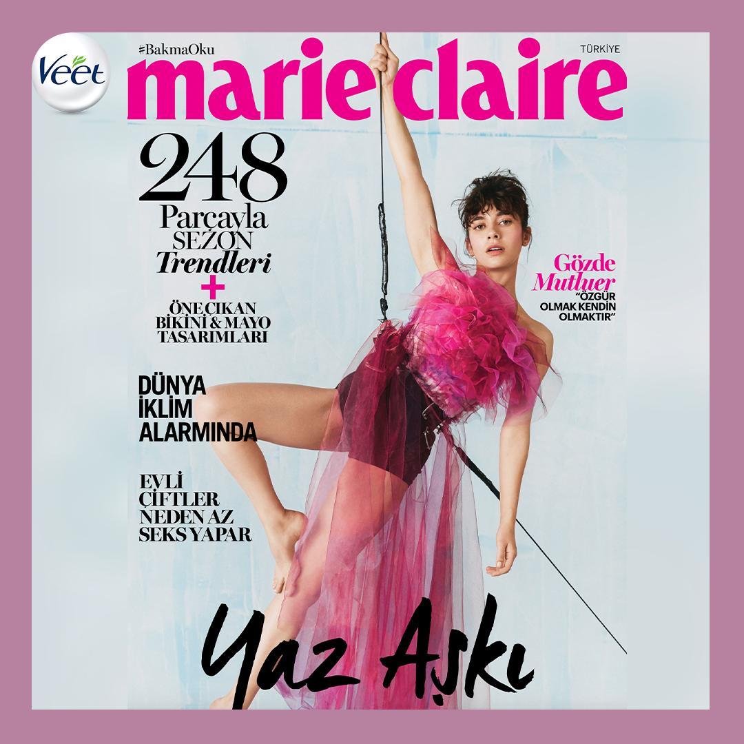 O bir #AntiPrenses! @MarieClaireTR'nin Haziran ayı kapağında bilin bakalım kim var?! Tabii ki @gozdemutluer 💕✌🏻 Gözde Mutluer'in #AntiPrenses hikayesini okumak için hemen bir Marie Claire alın. Veet'lesem, nasıl istersem! https://t.co/VUAp9BjYbF