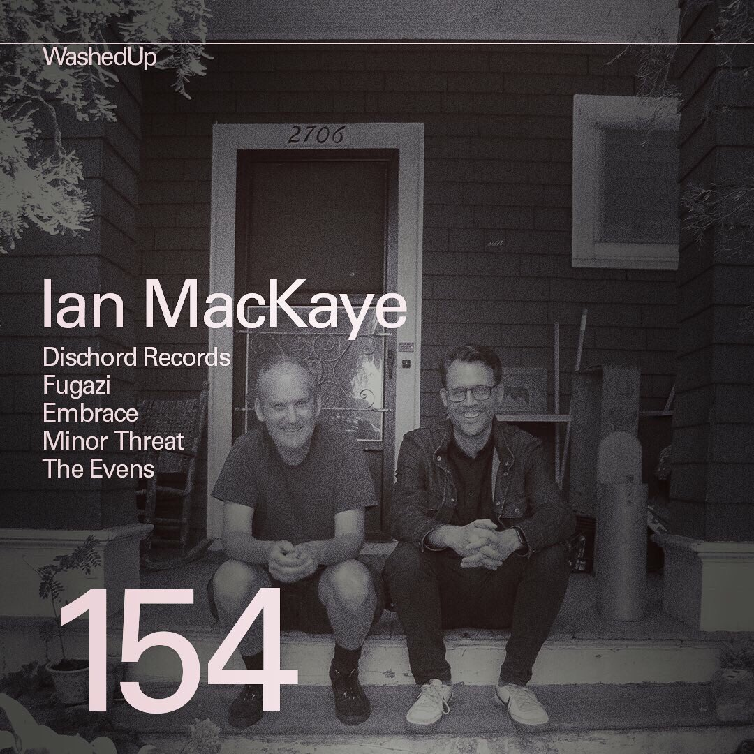 Ian MacKaye from @dischordrecords is guest #154 on the podcast. Listen: WashedUpEmo.com