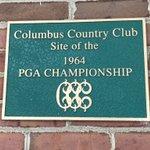 Image for the Tweet beginning: History lesson: Columbus Country Club