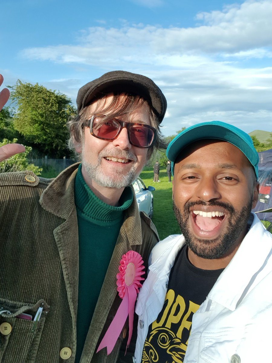 It was only a matter of time! =] Shout out to Jarvis for inviting me down to #EdaleCountryDay to speak yesterday. I also got to read out the Love Letter I wrote to Sheffield, check it out here: magicmagid.com/loveletter 👊🏾💚