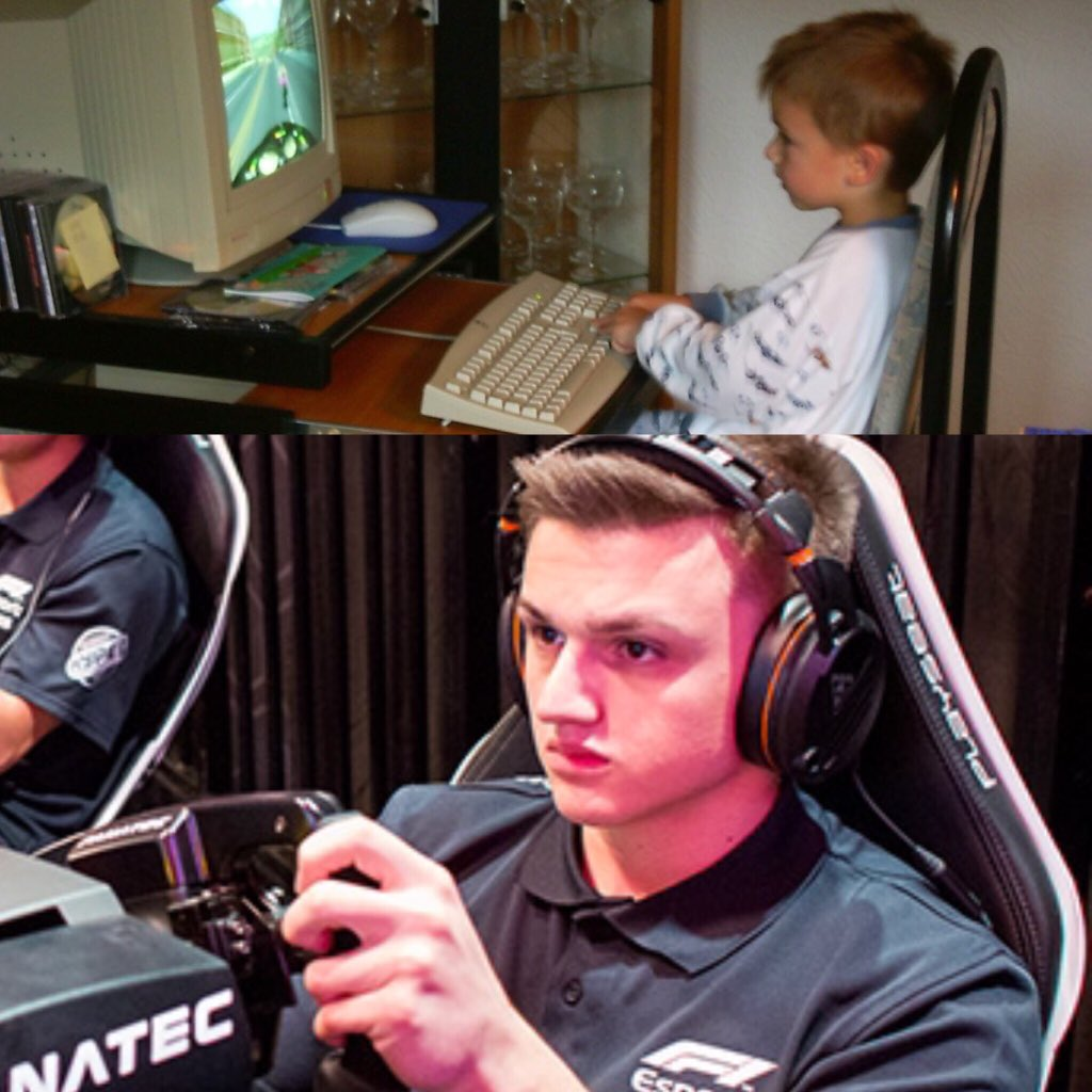 #mondaymotivation   Always believe in yourself and keep dreaming - anything is possible, no matter how hard it seems.   #F1 #F1Esports #Esports