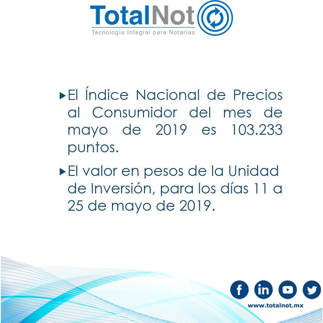Valor udi 2019 en pesos