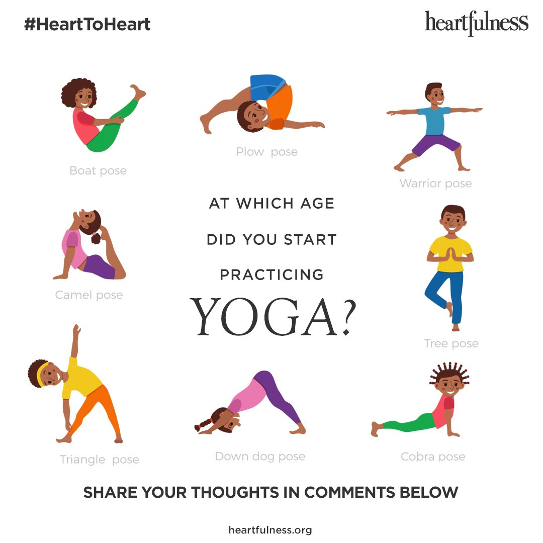 Heartfulness On Twitter Is Yoga Only For Adults Can It Help Kids Cope With Stress As Well What Is A Good Age To Start Yoga Share Your Thoughts With Us Yoga Children