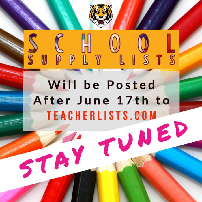 School Supply Lists just got more convenient! ✏️Lists will