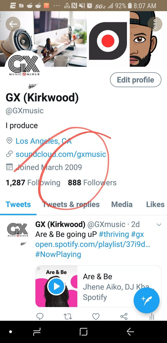 GX (Kirkwood) (@GXmusic) | Twitter