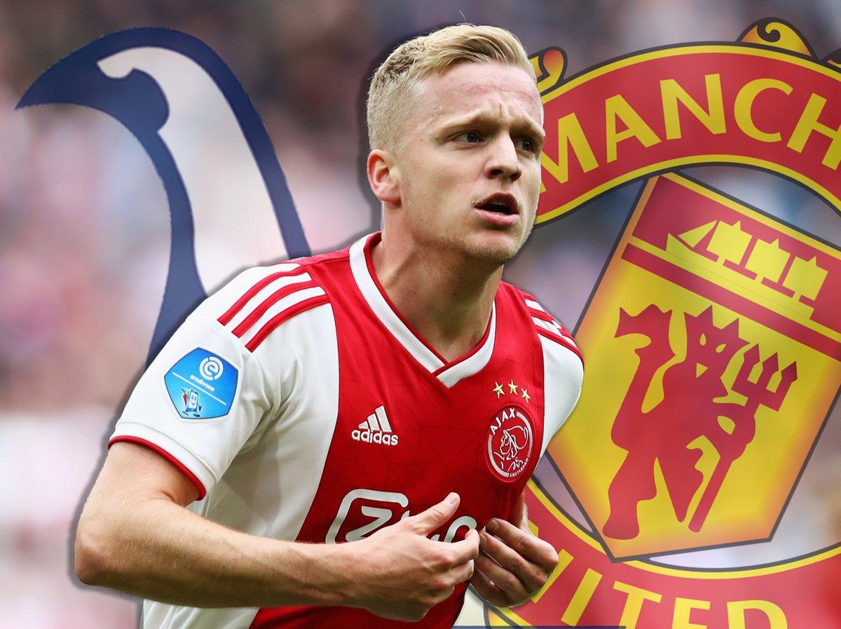Donny van de Beek's agent says midfielder's future remains unclear