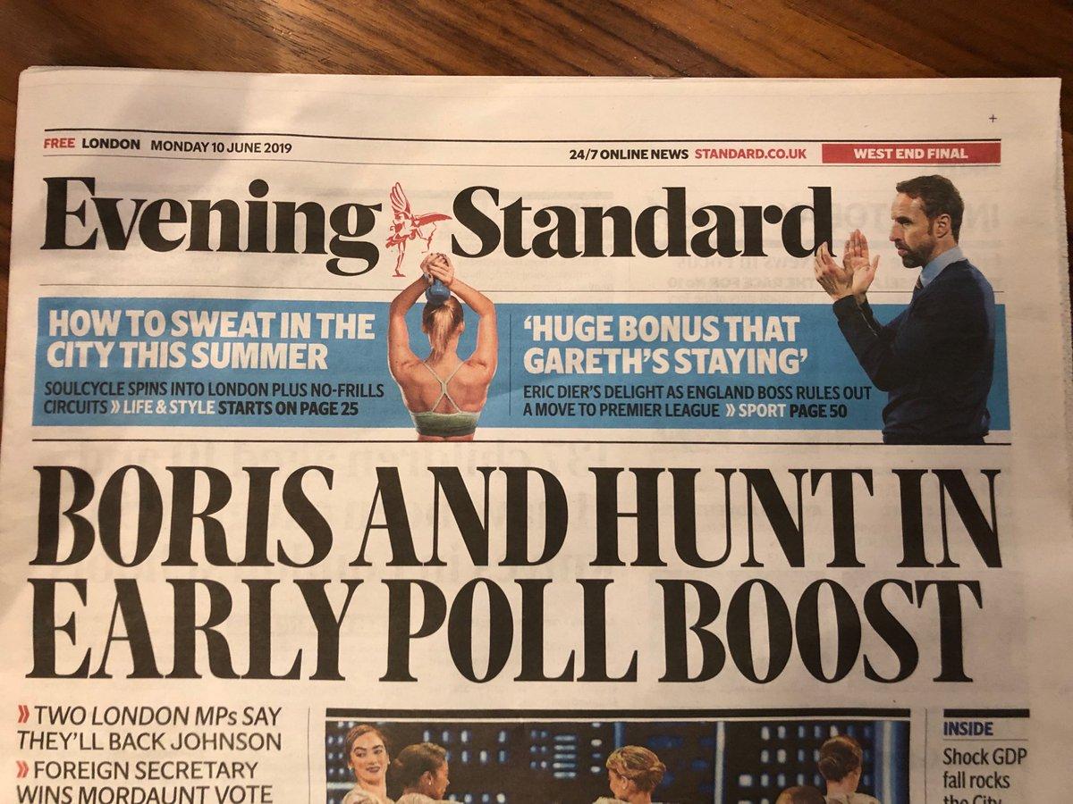 Le futur Premier ministre britannique: ça se joue entre Jeremy Hunt, l'actuel ministre des affaires étrangères qui a comparé publiquement l'UE à l'URSS, et son prédécesseur Boris Johnson, le menteur en série qui a trompé et ridiculisé son pays.Pauvre Royaume-Uni. Pauvre nous.
