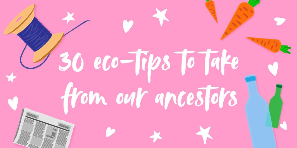 Is Generation Z really the first eco-friendly generation?  To mark our 30th birthday, we've listed thirty ways in which we could take a leaf out of our ancestors' books to become more eco-friendly!  https://biodegradable.biz/blog/hints-tips/30-eco-tips-to-take-from-our-ancestors/…  #ecofriendly #zerowaste #toptips #sustainableliving