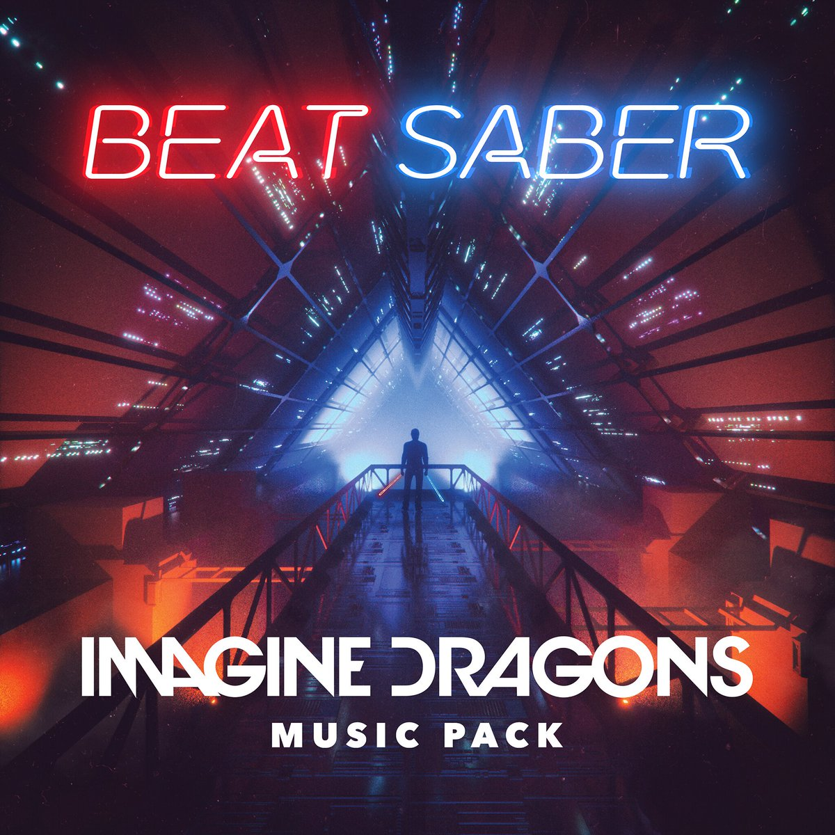 It's time. @BeatSaber releases a new music pack today, featuring hits from world-renowned pop/rock band @Imaginedragons: https://play.st/2WAmPAC  #PSVR