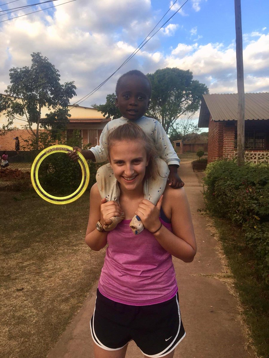 RT @UOGWFootball Continuing her excellent year of volunteering, @KatieChris1999 is in Africa with @SportMalawi for the next month📆