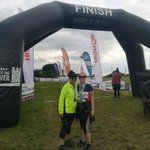 Image for the Tweet beginning: 52.4 miles completed by Ms